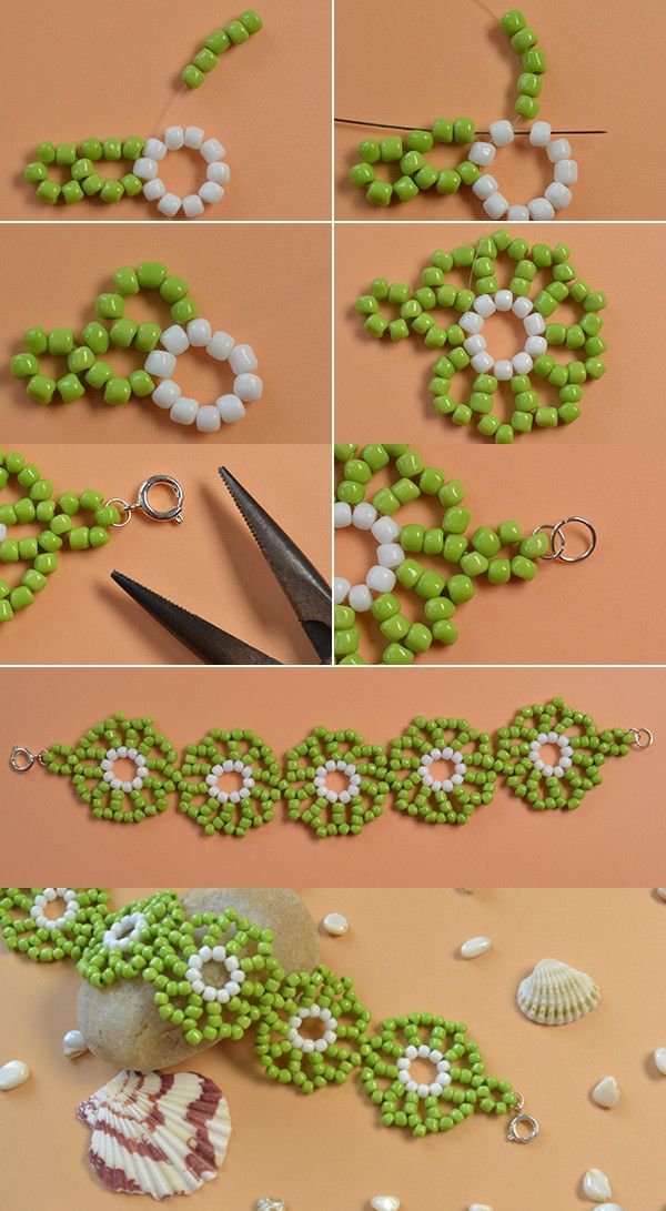 fresh seed beads bracelet, wanna it? LC.Pandahall.com will release the tutorial soon.