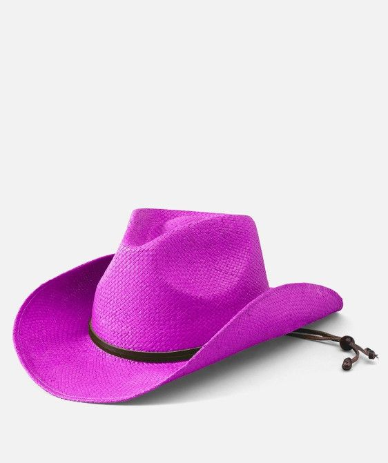 San Diego Hat: Kid's Cowboy Hat (Bright Pink) Little cowgirls are sure to be the best in the West in this hot pink Cowgirl hat!