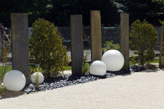 un aménagement de jardin contemporaine