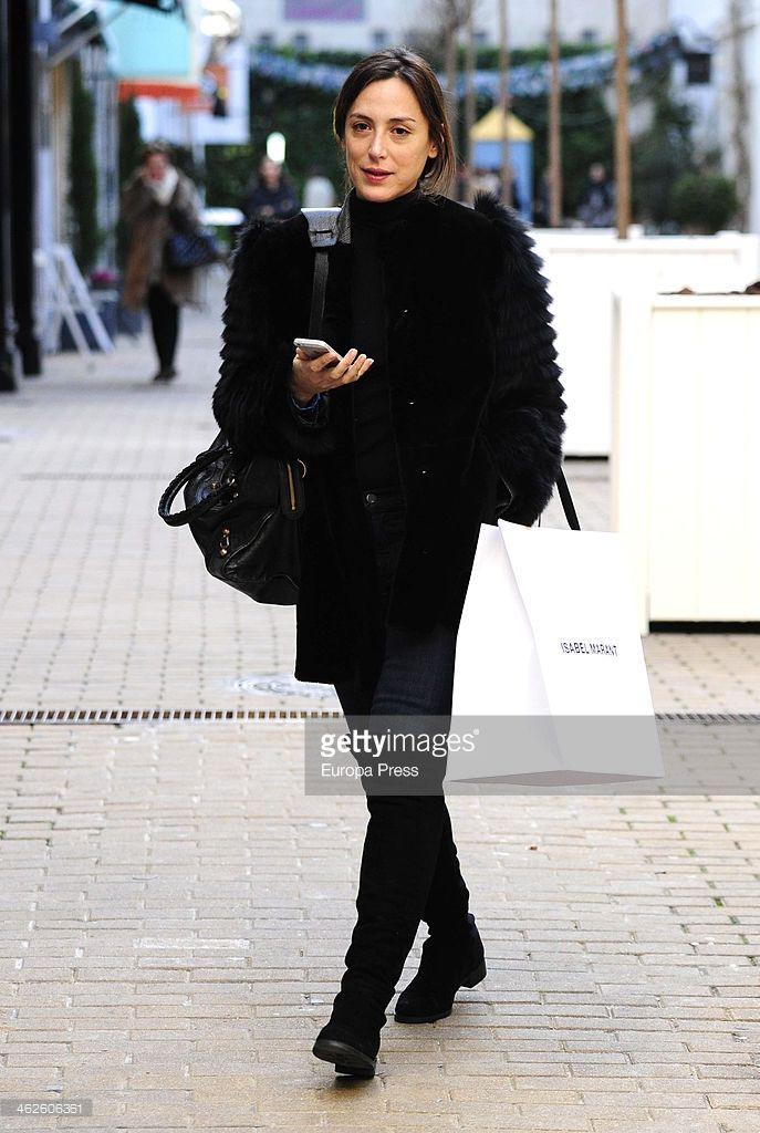 Tamara Falco is seen on January 13, 2014 in Madrid, Spain.