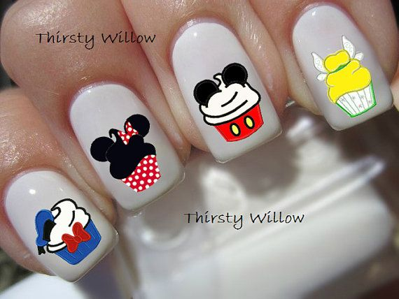 Hey, I found this really awesome Etsy listing at https://www.etsy.com/listing/193474434/disney-cupcakes-nail-decals