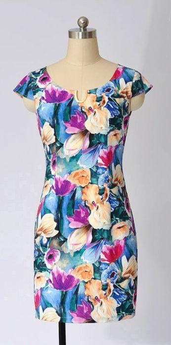 Tiptoe through the Tulips Dress
