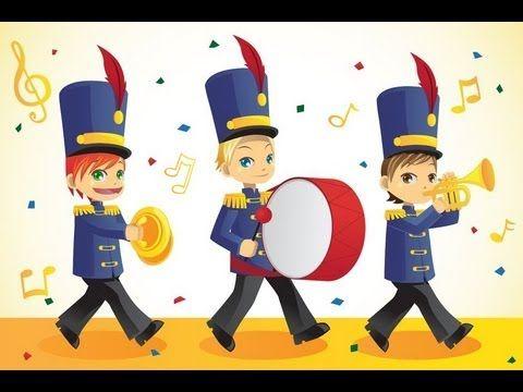 Filastrocca di CARNEVALE - suona la fanfara, per Bambini!