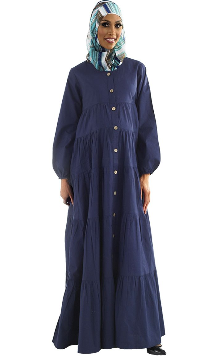 Lamina Maternity Abaya - Price: $29.99 - Sku ID : AJM13