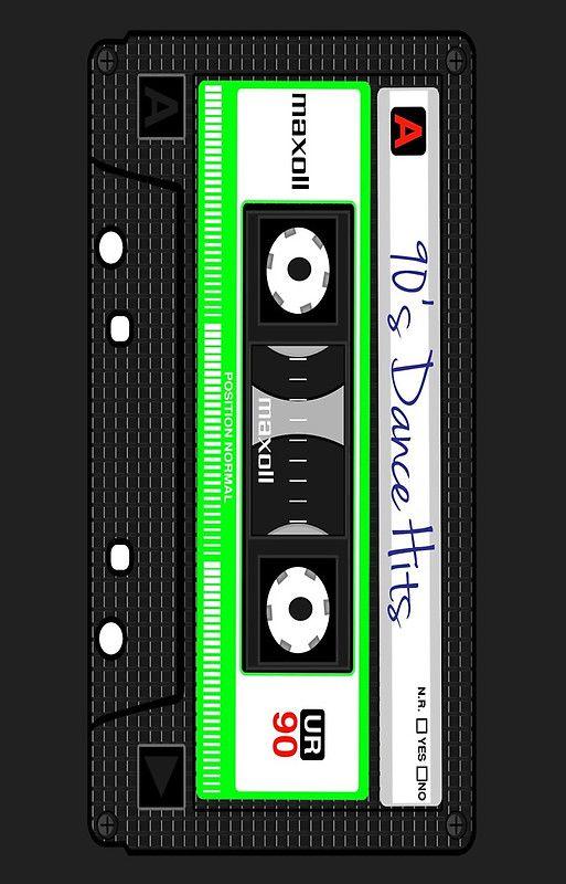 90's Dance Hits Retro Cassette Phone Case