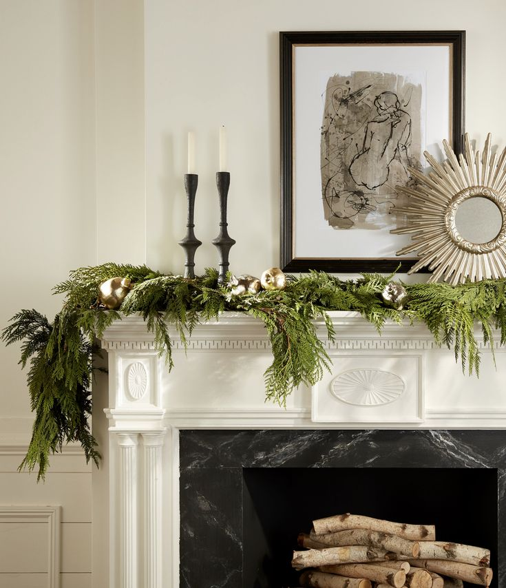 Unique Mantel Decor Of 25 Unique Christmas Mantel Decor Ideas On Pinterest