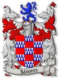 Resultado de imagen para escudo original del apellido alvarez