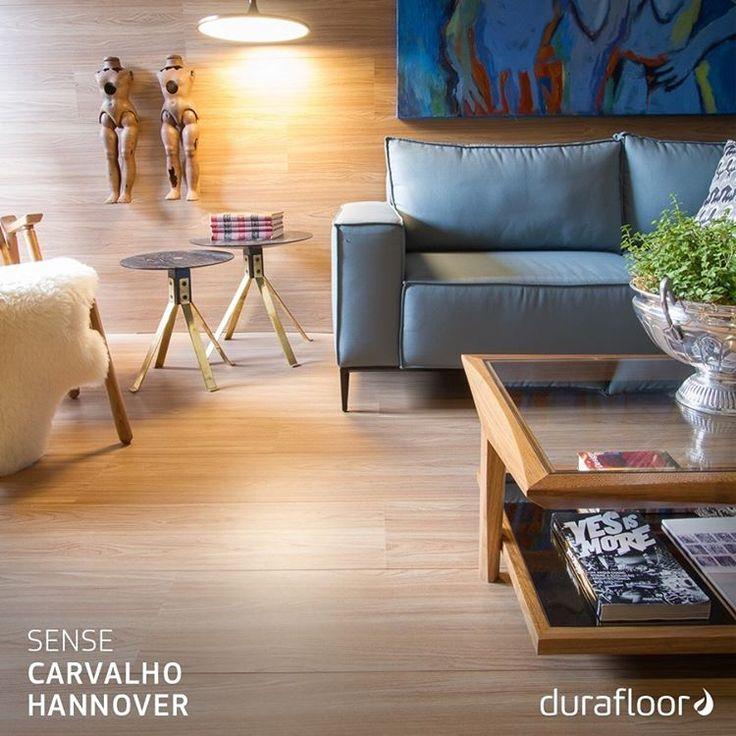 O aspecto natural desta linha combina tanto com ambientes moderninhos quanto com lares rústicos. Arquiteto Johnny Tomsen (@johnnythomsen_arq). #Duratex #Madeira #Decor #Durafloor