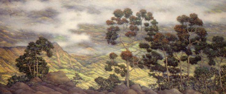 Gonzalo Ariza. Acuarelista y pintor paisajista bogotano. 1912-1995.