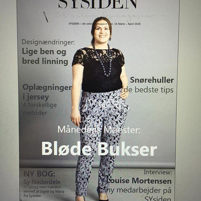 Nemme bukser (fra Sysiden #15) i tre udgaver. Loviser fortæller om den proces der forfiner mønstret buks for buks, til det er præcis som hun vil have det