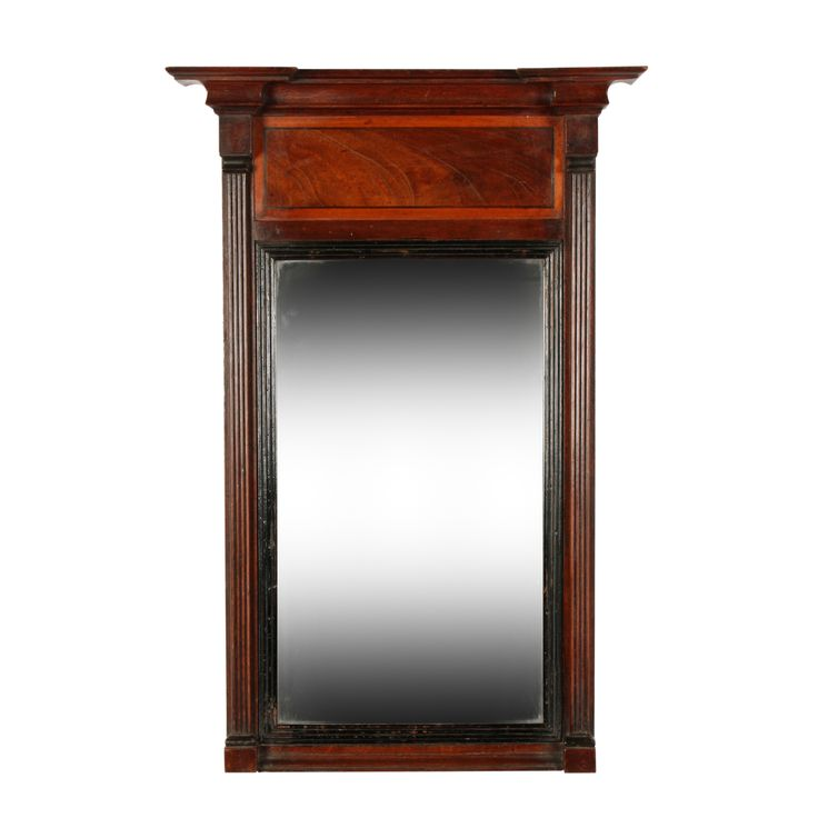 George IV Mahogany Pier Glass