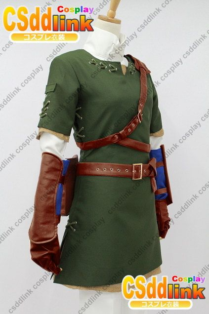 The Legend of Zelda Zelda Link Cosplay Costume by CSddlinkcosplay ...