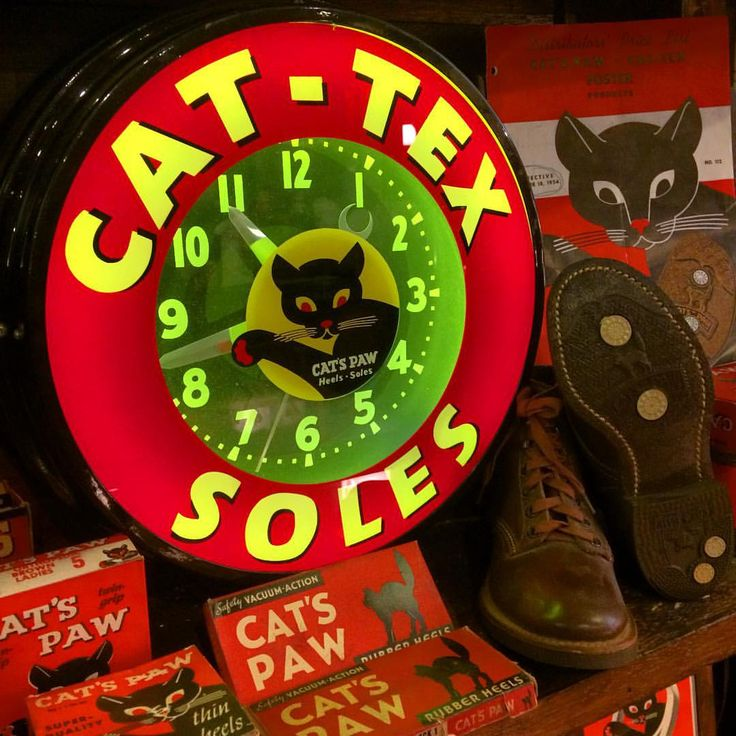 """231 Likes, 4 Comments - KNOCK ON WOOD GENERAL STORE (@knockonwood98) on Instagram: """"#vintagecatspaw#catspaw#redwing#boots#deadstock#shoe#neonclock#vintageadvertising#antiques#retro#junk#americanvintage#usa#50s#キャッツポウ#ヴィンテージ#ネオンクロック#レッドウイング#ブーツ#デッドストック#アンティーク#ヒール#アドバタイジング#レトロ#ジャンク#アメリカ雑貨#アメリカン雑貨#雑貨#ヴィンテージ雑貨#アンティーク雑貨"""""""