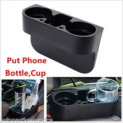 Car truck van wedge seat phone 2 cup holder #drink bottle mount #stand #orangize ,  View more on the LINK: 	http://www.zeppy.io/product/gb/2/252682023849/