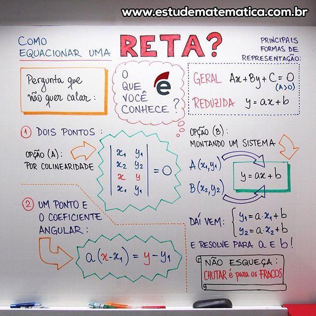 Equação - Reta