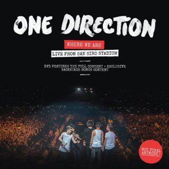 Where We Are: Live From San Siro Stadium [DVD]: Amazon.co.uk: One Direction: DVD & Blu-ray