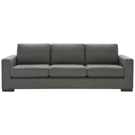 Signature 3 Seat Sofa Attache Nutmeg freedom $1699