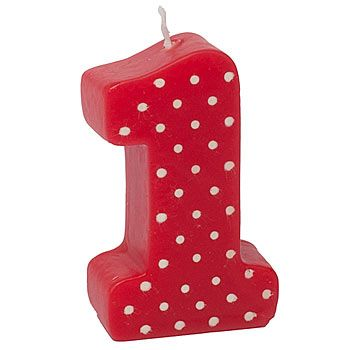 The Ladybug Fancy Molded First Birthday Candle will look fancy on top of your First Birthday Cake! This Lady Bug Dots #1 Candle measures 3 inches.