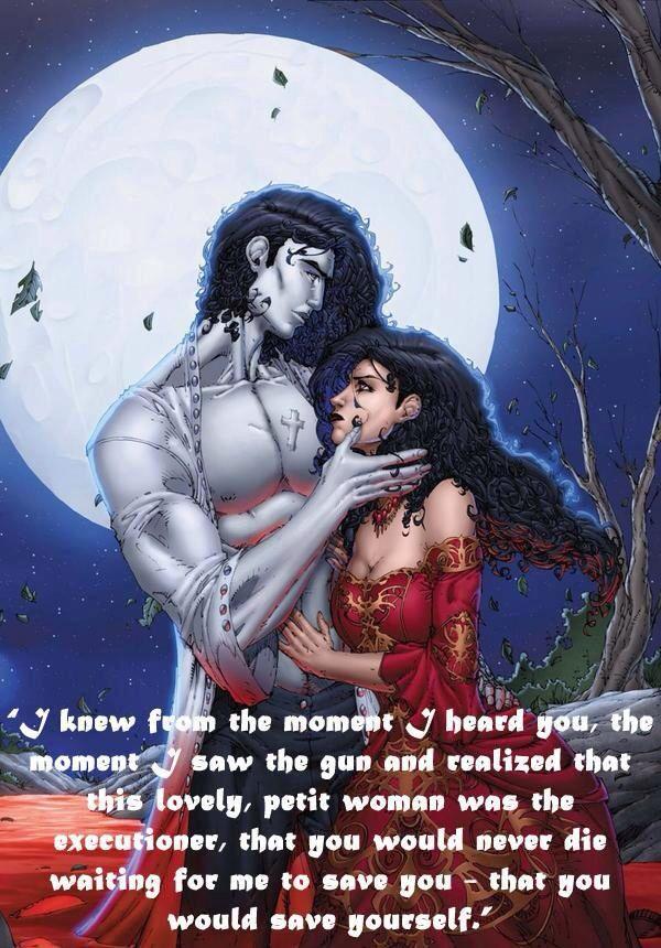 Who doesn't love Jean-Claude? Anita Blake (graphic) novels by Laurell K. Hamilton **