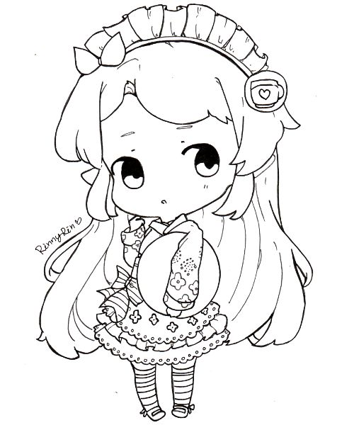 86 best coloriage personnage chibi et manga adult coloring - Coloriage chibi ...