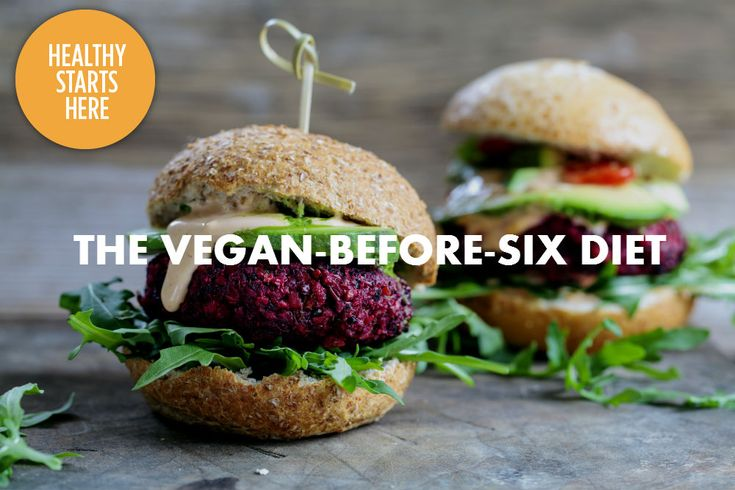 Concerned about all the negative impacts of eating meat, but not quite ready to give it up? The vegan-before-six diet might be perfect for you.