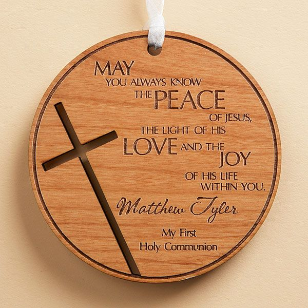 14163 - Blessing for You Personalized Wood Keepsake