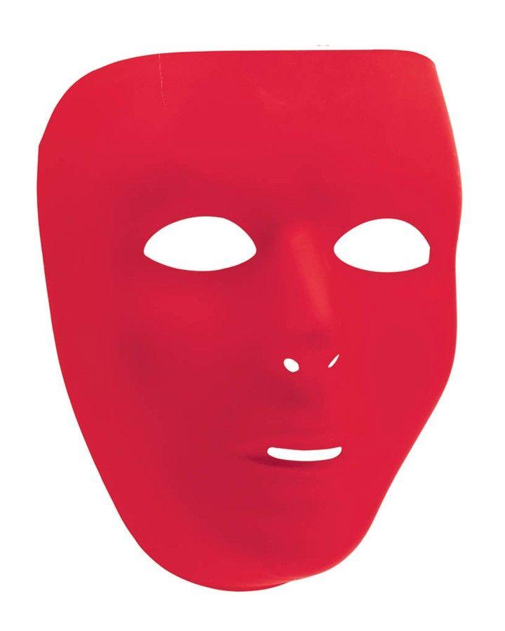 Full Red Face Mask