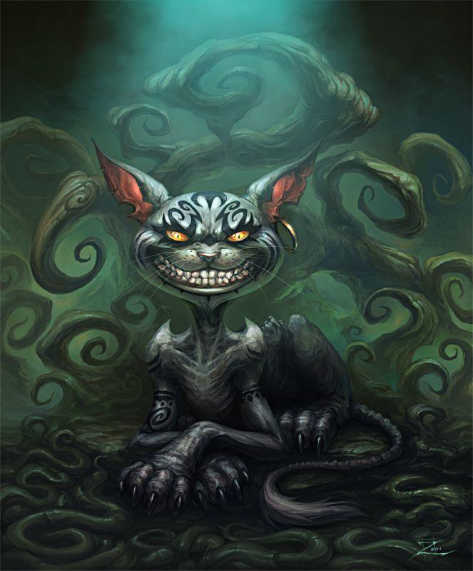 Cheshire Cat by Zeeksie.deviantart.com on @deviantART