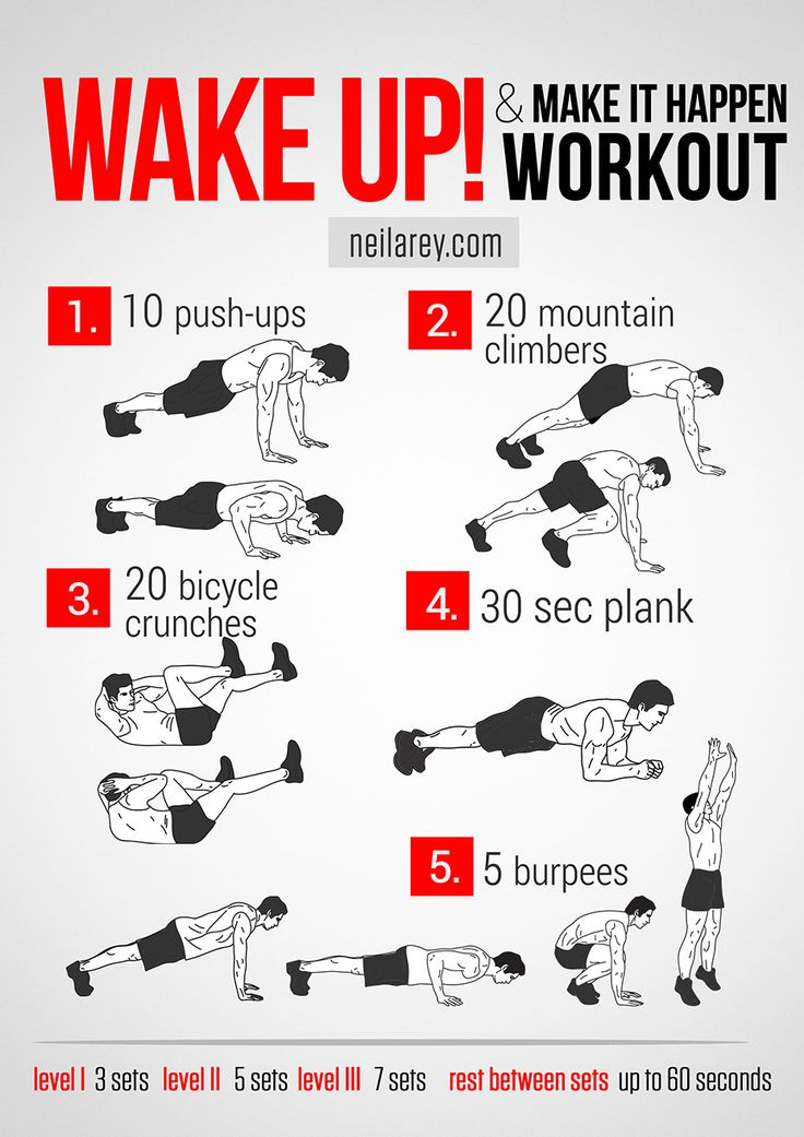 Wake up! & make it happen workout. #fitness #PinYourResolution #fit2014 #abs #workout #workoutroutine