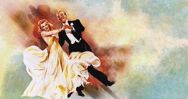 Фред Астер и Джинджер Роджерс снялись в качестве танцующих партнеров в 9 фильмах, начиная с «Полета в Рио» (Flying Down to Rio, США, 1933), где они исполнили небольшой танцевальный номер под назван...