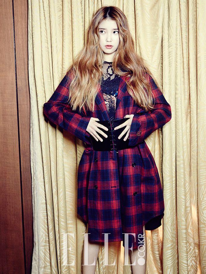 IU - Elle Magazine November Issue '13