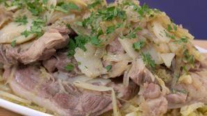 Cape Malay lamb, cabbage & potato Bredee