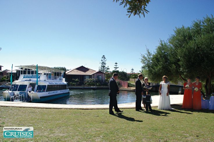 Cruise to your wedding in the park. #wedding #reception #venue