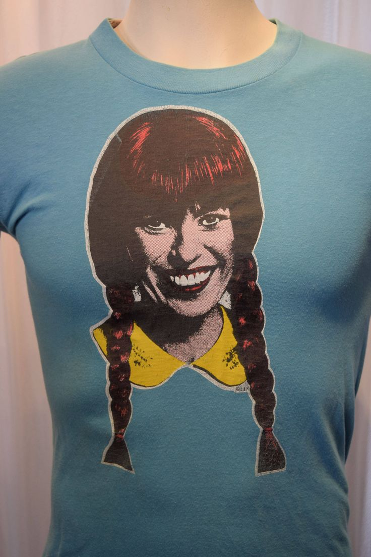 1970's Icon Mary Hartman Louise Lasser T-shirt SNL Woody Allen Soap Opera Satire by ZwiggyAustinVintage on Etsy