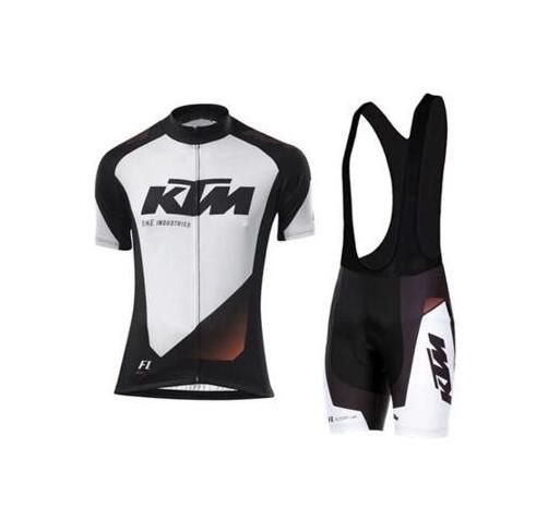 2017 cycling jersey sets For Men pro team summer ropa ciclismo MTB mountain bike cycling clothing mtb bike wear ktm Cycling sets