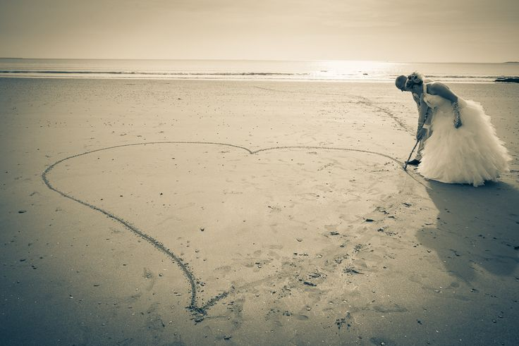 """Photos de mariages """"plage"""""""
