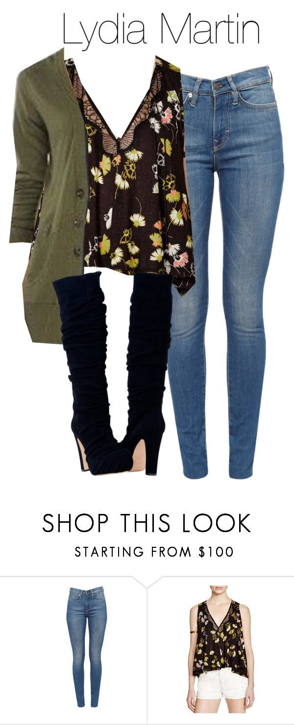 """""""Lydia Martin outfit with jeans - tw / teen wolf"""" by shadyannon ❤ liked on Polyvore featuring Free People"""