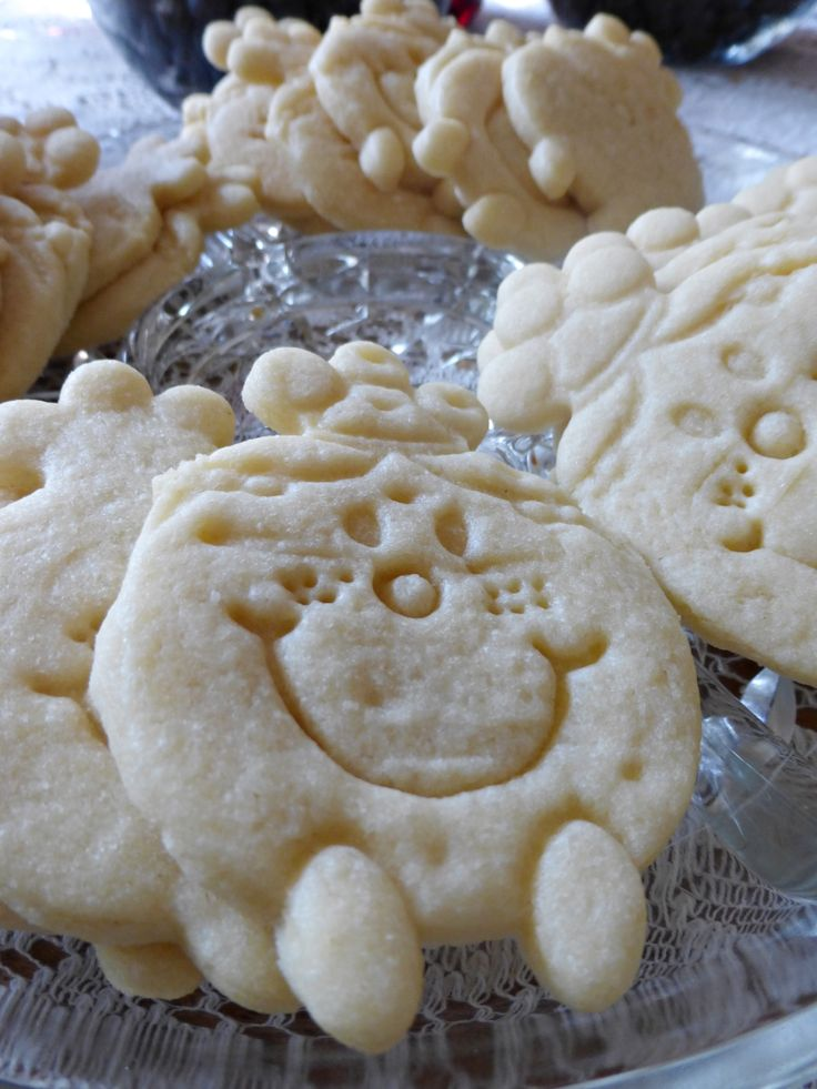 Little Miss sugar cookies - the cutter was sent from the UK