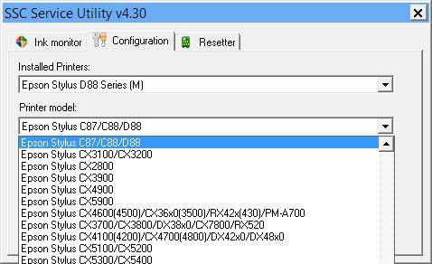 ClickFacile.net - Piccole Soluzioni per PC e Smartphone: SSC Service utility. Resettare i chip delle stampa...