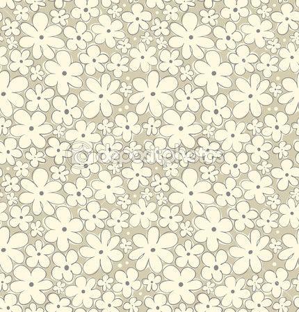 Színes virág varrat nélküli mintát. Kontraszt szövet szerkezete, díszfa. Aranyos háttér leafs függönyök, ruhák, nyomatok, háttérképek, csomagok — Stock Vektor © Silmen #26560225