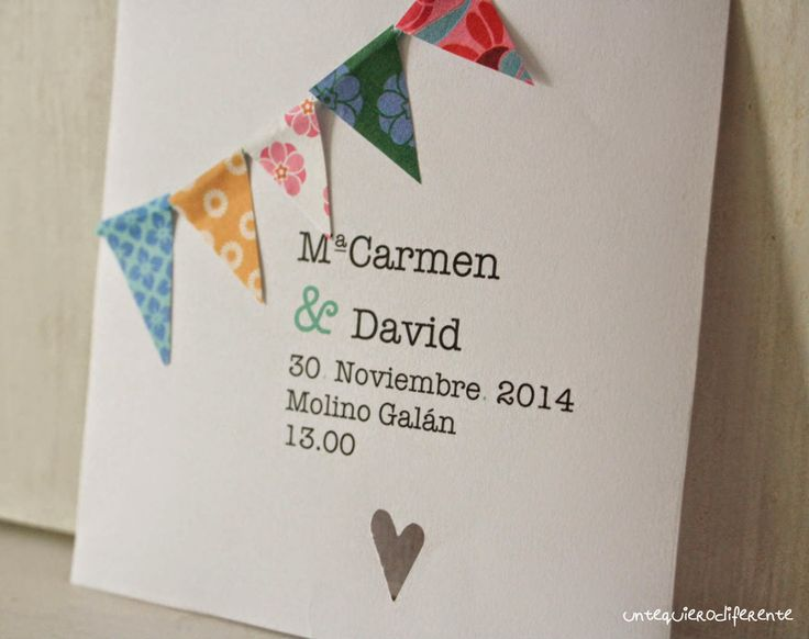 Adelanto de las nuevas invitaciones de boda