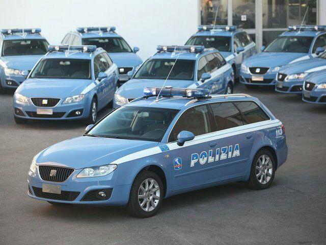 SEAT EXEO FAMILIAR POLIZIA DI STATO