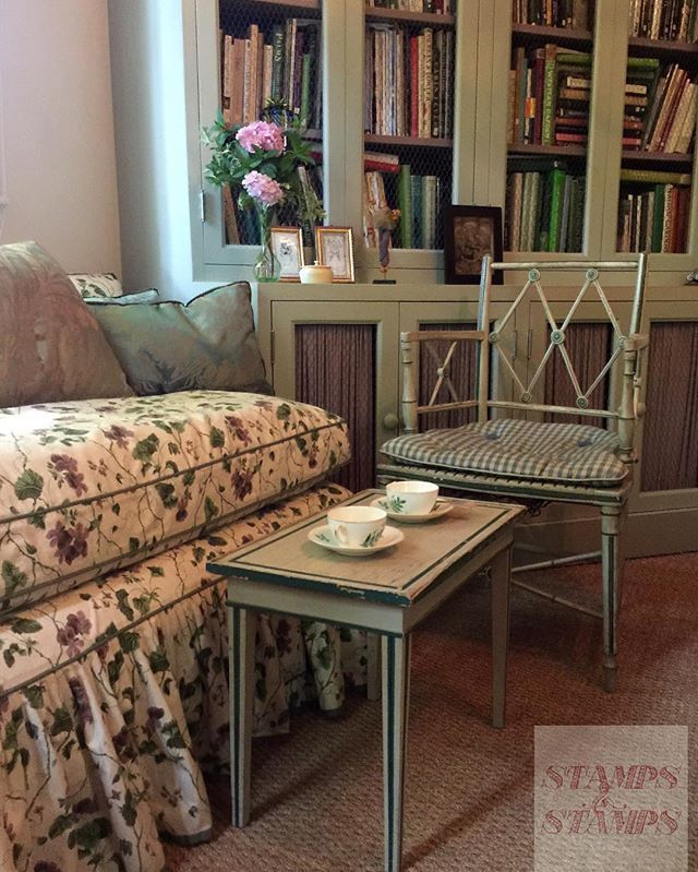 In The Cottage, For Tea, An Homage To John Fowler   His Chair, · English  Cottage StyleEnglish ...