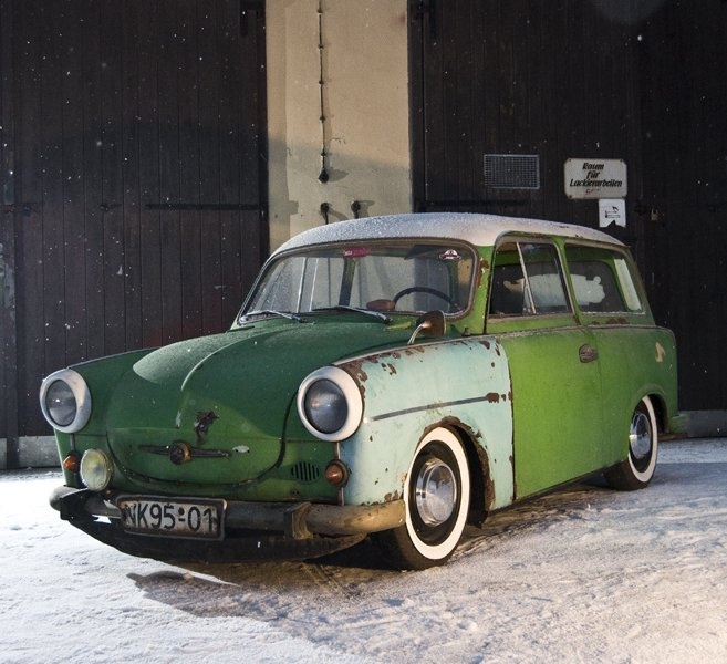 Trabant 500 Rat Look