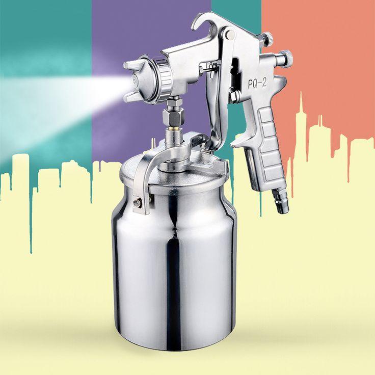 Magic Spray Gun Sprayer Air Brush Alloy Painting Paint Tool Professional Penumatic Furniture For Painting Cars Home AT2141