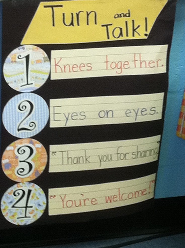 1000 Images About Turn And Talk On Pinterest Student