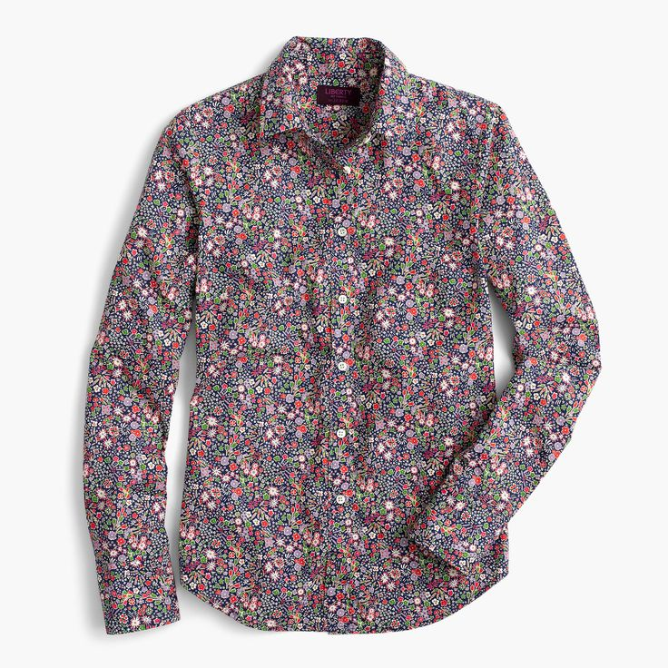 J.Crew - Perfect shirt in Liberty