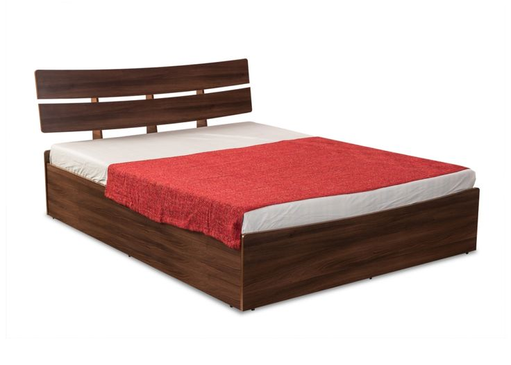 KELLY Manual Storage Queen Bed from Durian is spacious with ample storage provided in the central cavity with four compartments and hard board sheets on the bottom.