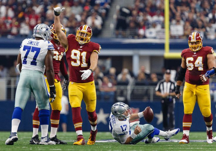 Redskins LB Ryan Kerrigan day-to-day with sprained elbow = The Washington Redskins got some good news on Monday regarding the elbow of linebacker Ryan Kerrigan. An MRI revealed today that his injured elbow is only a sprain and nothing more serious. He'll now be day-to-day going.....