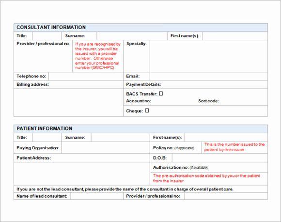 Medical Receipt Template In Printable Format Di 2020